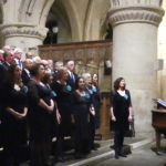 Choirs in Malmesbury Abbey